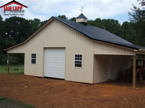 pole barn designs residential polebarn building havre de grace tam lapp 1564