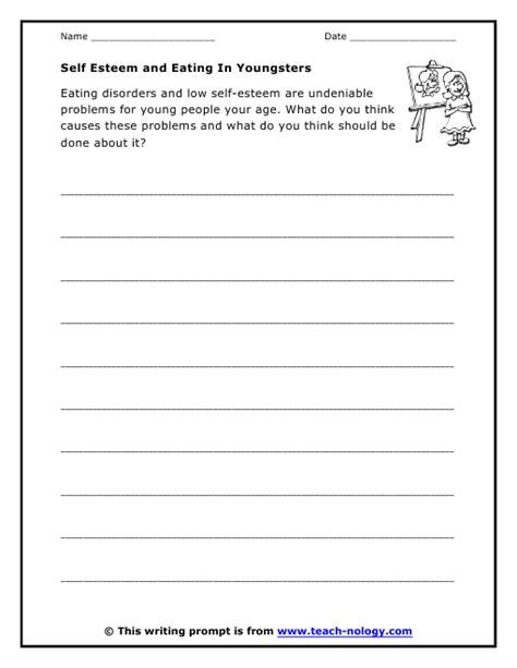 All Worksheets » Confidence And Self Esteem Worksheets  Printable Worksheets Guide For Children