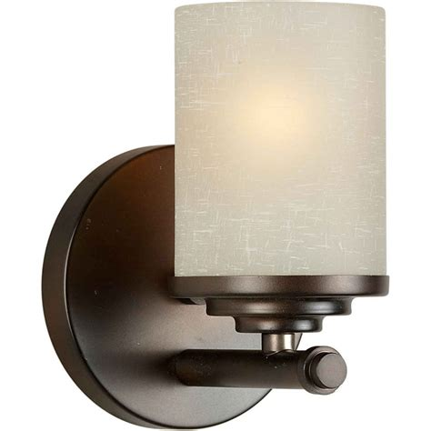 filament design burton 1 light wall antique bronze