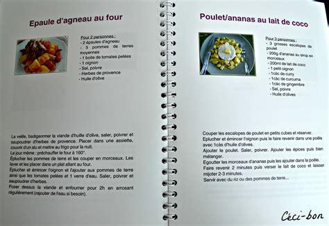 faire un livre de cuisine creer un livre de recette de cuisine 28 images cahier