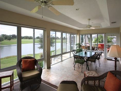 A Florida Room by Sunrooms Florida Rooms Products White Aluminum Windows