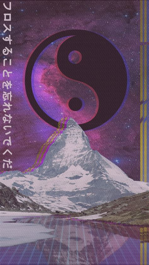Cool Yin Yang Wallpapers Free Aesthetic Vaporwave Wallpaper Desktop Background At Cool Monodomo