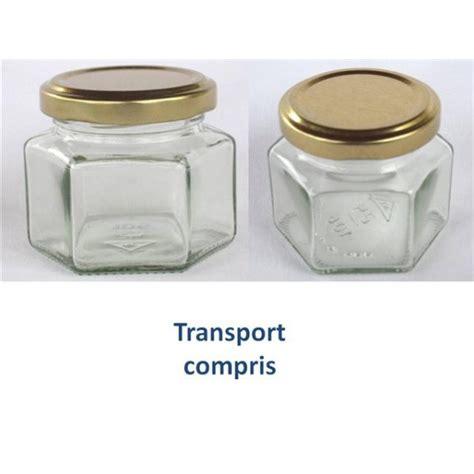 petits pots hexagonaux 105 ml avec couvercle au choix findapack livraison 72 heures