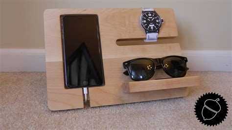 wooden charging station how to a stand charging station