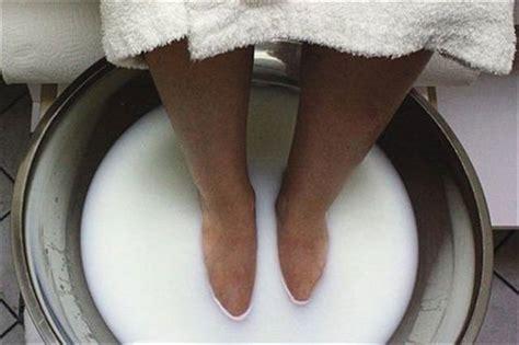 warm milk  mud pedicure technique nails magazine