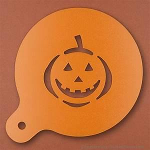 Halloween Kürbis Schablone : cappuccino schablonen mit logo ~ Lizthompson.info Haus und Dekorationen