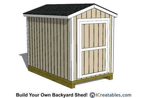 6x10 shed plans 6x10 storage shed plans icreatables