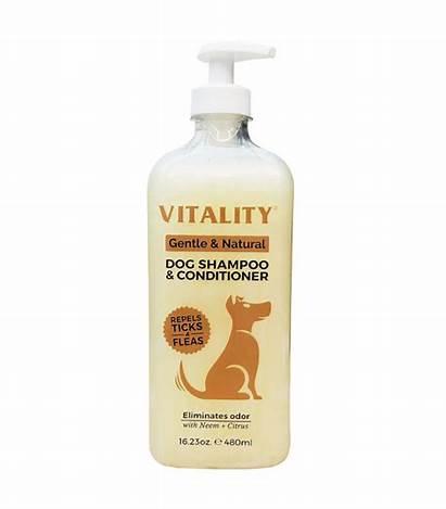 Conditioner Dog Shampoo Vitality Natural Gentle 480ml
