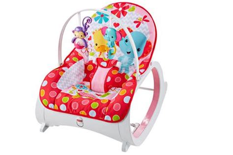 siege fisher price fisher price infant to toddler rocker flowery chevron