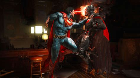 batman  superman injustice  beta gameplay gamespot