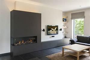 Tv Wand Modern : gashaard wand google zoeken haard pinterest search ~ Michelbontemps.com Haus und Dekorationen