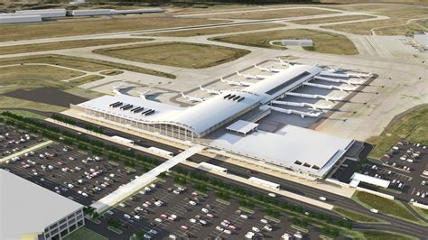clinton national airports concourse prepares