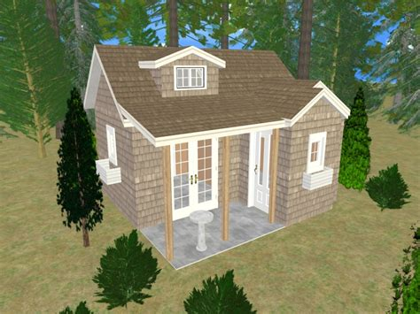 Storage Sheds Turned Into Houses Small Shed House Plans