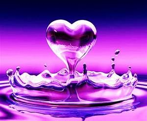 Tweetymom65 images Pretty purple heart ♥ wallpaper and ...