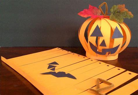 diy paper pumpkin craft ideas guide patterns