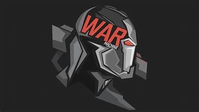 4k Machine War 8k Minimal Headshot Wallpapers