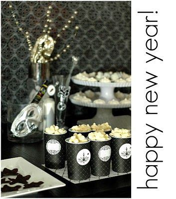 Entertaining New Years Dinner by Easy Entertaining Black And White New Year S