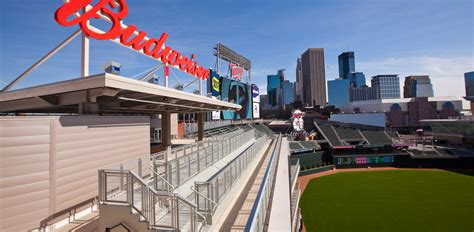 budweiser roof deck citizens bank park target field events budweiser roof deck minnesota