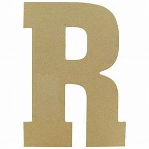 mpi wood 13quot wood jumbo letter r shop hobby lobby With jumbo wooden letters
