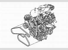 20072008 GMC Acadia V6 36L Serpentine Belt Diagram
