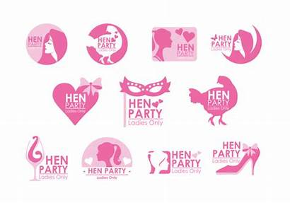 Hen Party Clipart Vector Freeuse Various Elegant