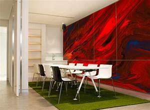 Wohnzimmer Wandgestaltung Farbe : wandgestaltung ideen f r moderne wandgestaltung mit farbe im wohnzimmer freshouse ~ Markanthonyermac.com Haus und Dekorationen