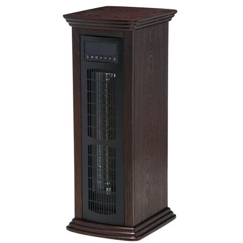 life pro medium room infrared tower heater fan lifesmart life pro series 1500 watt 27 in deluxe infrared