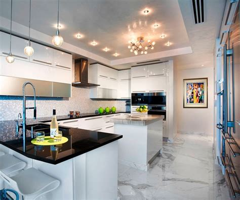 kitchen design miami pfuner design oceanfront penthouse contemporary 1268