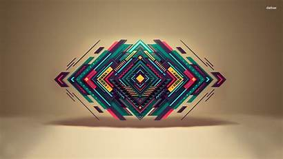 Wallpapers Shapes Geometric 3d Cool Abstract Background