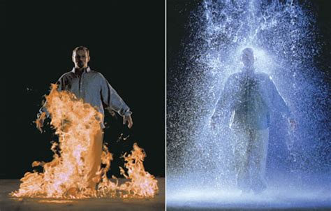 Bill Viola Artworks the crossing art and electronic media