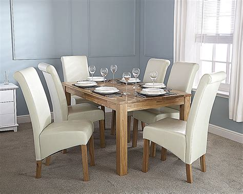 Solid Oak Dining Table  Discount Furnishings Outlet