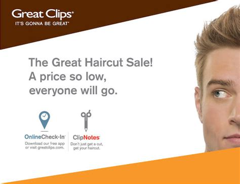 great haircut specials great 6 99 great haircut ontario only 4376