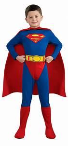 Superman Comics Deluxe Kids Costume - Mr. Costumes