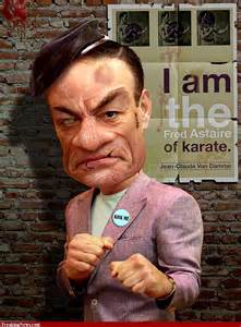 Jean Claude Van Damme Caricature Kickboxer Photo Shared By Guglielmo