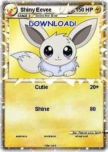 Ex Light En Español Pokémon Shiny Eevee 5 5 Cutie My Pokemon Card