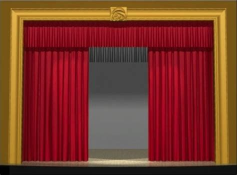 Theatre Drapery by Stage Curtain Demonstrations