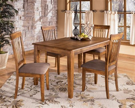 Ashley Rustic Dinette Table Set  My Furniture Place