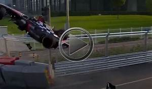 First Formula E Race Ends With Spectacular Crash