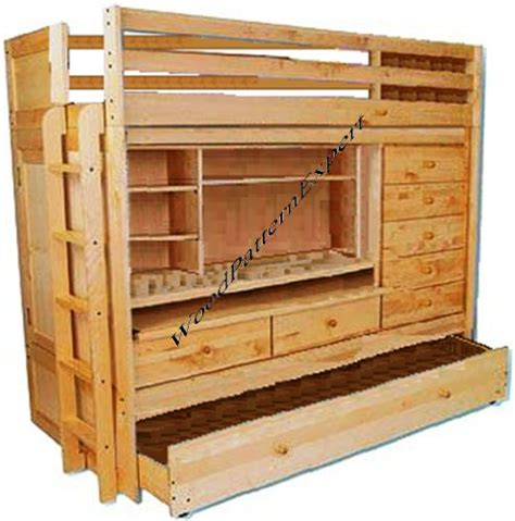 bunk bed with trundle and desk wholesale bunk bed all in 1 loft with trundle desk chest