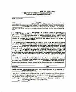 sle conflict of interest policy template 28 images With conflict of interest policy template