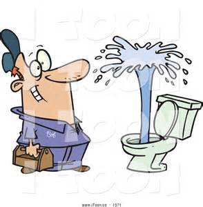 Cartoon Toilet Clip Art