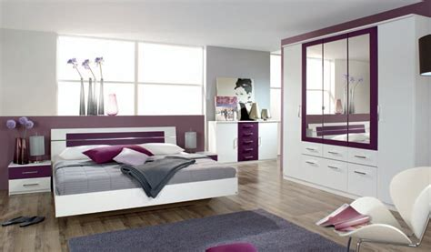 chambre complet chambre adulte ccontemporaine coloris blanc mûre venise