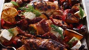 Best Easy Greek Sheet Pan Chicken Souvlaki and Potatoes ...