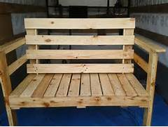 Outdoor Patio Furniture With Bench Seating by Outdoor Seating Bench Made From Pallets Wood Pallet Furniture Plans