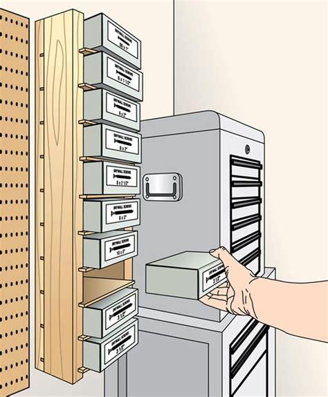 simple screw box shelves woodworking plan  wood magazine   shop pinterest shop