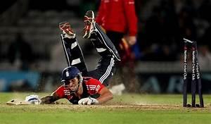 Jade Dernbach was the fourth England batsman run out, in ...