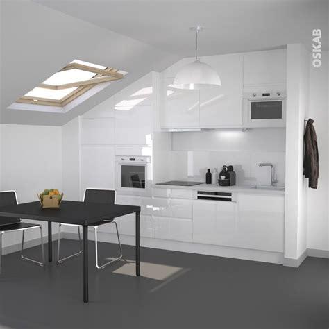 cuisine blanc mat sans poign馥 cuisine blanc mat sans poignee 3 cuisine blanche sans poign233e ipoma blanc brillant evtod