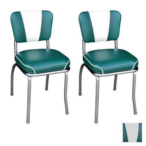 shop richardson seating 50 s retro chrome stackable dining