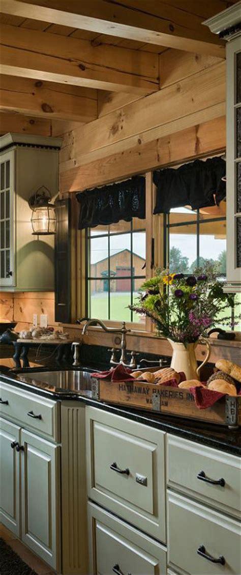 log home kitchen design rustic kitchens design ideas tips inspiration 7154