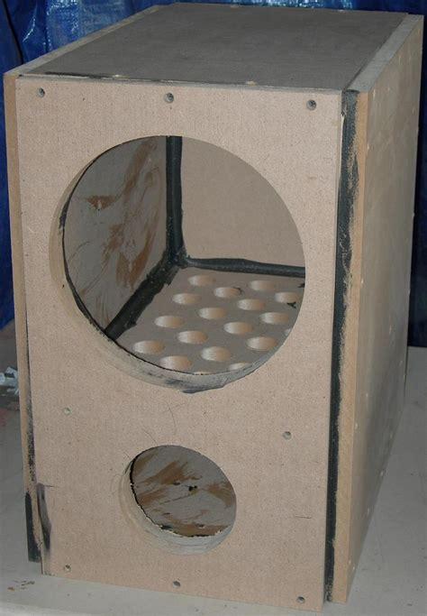sub box design hivi sp10 diy subwoofer project